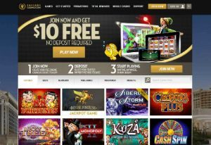 caesars casino website