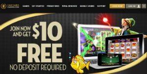 caesars casino welcome bonus
