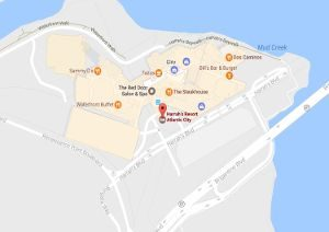harrahs atlantic city location