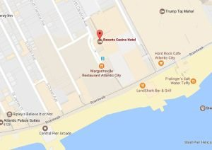resorts casino hotel location